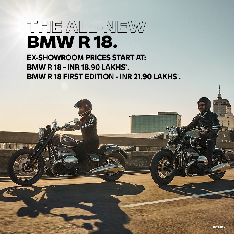 The moment you've all been eagerly waiting for is finally here! 👏🏻 The all-new BMW R 18 boasts of the biggest Boxer engine we've ever built. Get your hands on this new-age marvel by contacting your nearest BMW Motorrad dealership. Know more about the bike: https://t.co/bHCAnk7M1L https://t.co/DdzIJ5d1sL