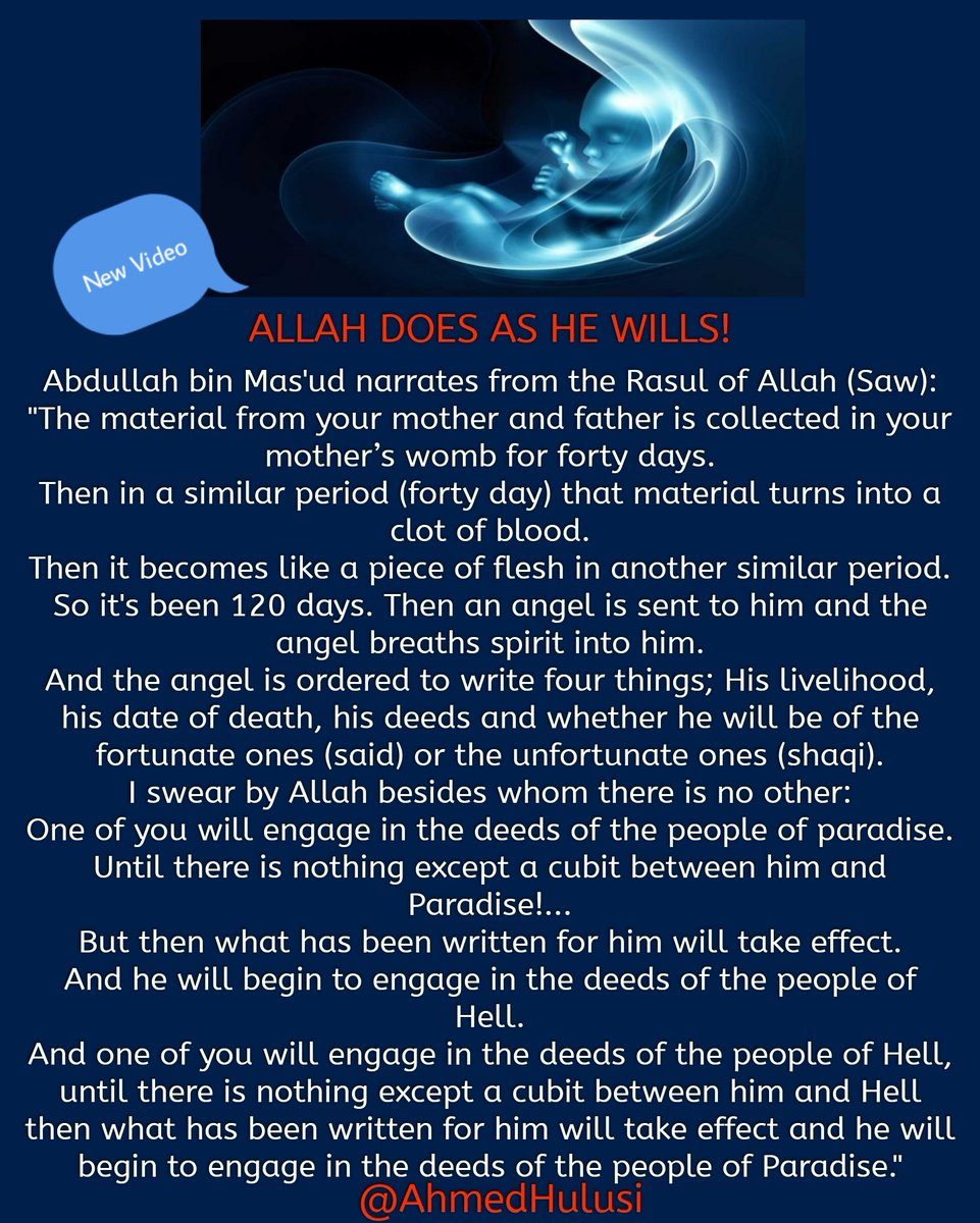 #Facebook  🌟NEW VIDEO🌟  Allah Does as He Wills!  @AhmedHulusi https://t.co/76RR9avphd https://t.co/qPxqXn5vbr https://t.co/M5GOQhQb2y