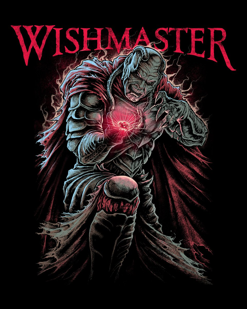 """Today in 1997, """"Wishmaster"""" hit theaters in the U.S.!! @frightrags #Horror #Genie #Djinn #AndrewDivoff #childhoodmemories #90smovies https://t.co/2LngjXdtau"""