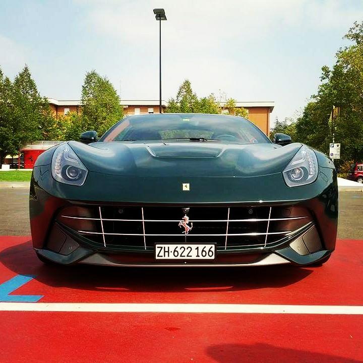 #PhotoOfTheDay - 19/09/2020 - green #Ferrari #F12 at #Maranello 🇮🇹 during 70th anniversary in sept 2017 📷 : @FerrariFM https://t.co/QBdQznj9EP