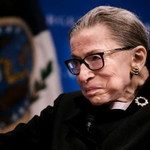 Image for the Tweet beginning: Justice Ruth Bader Gisnburg is
