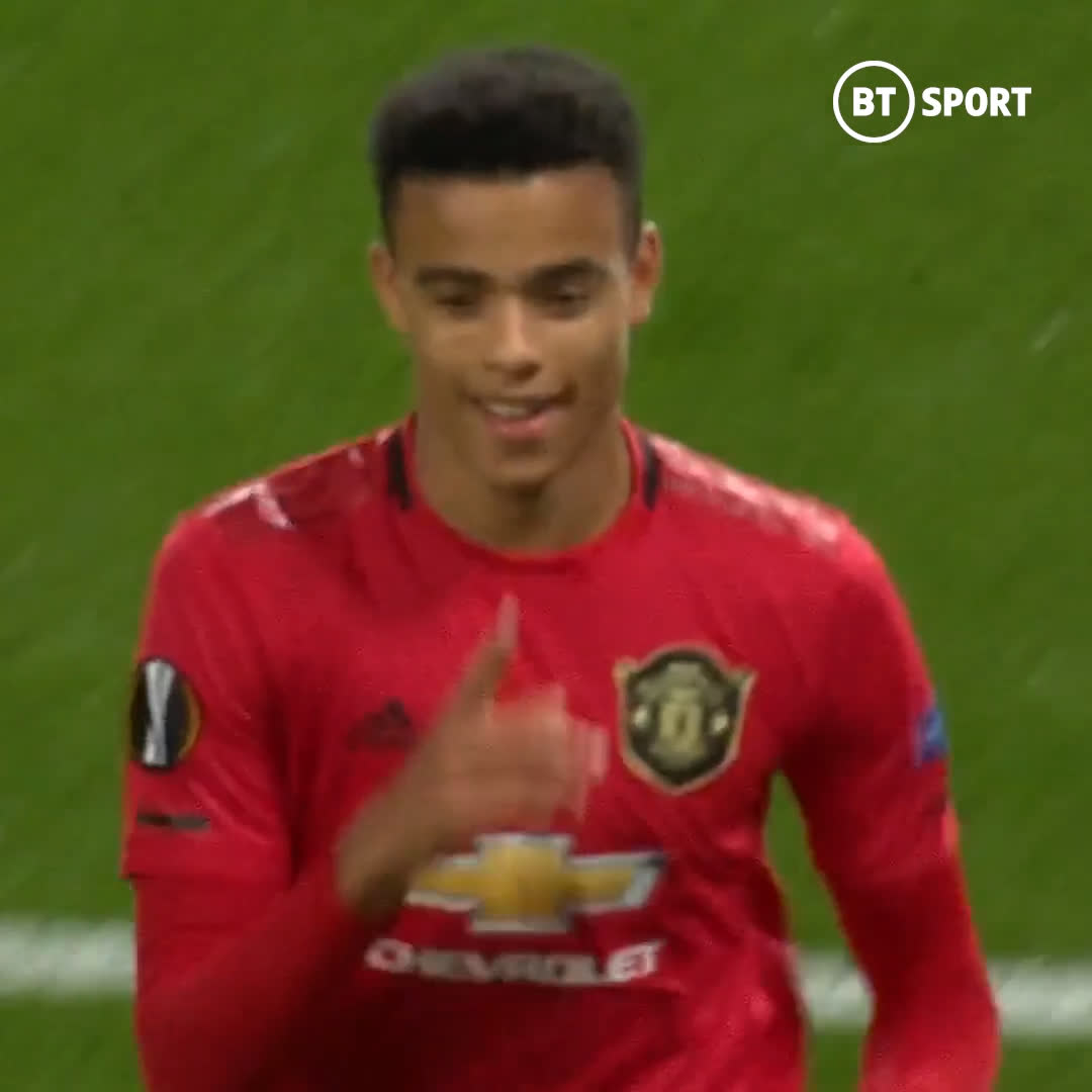 𝟏𝟗-𝟎𝟗-𝟐𝟎𝟏𝟗 - A special moment for Mason Greenwood ❤️ The teenager scored his first senior goal for Manchester United ⚽️ #OnThisDay