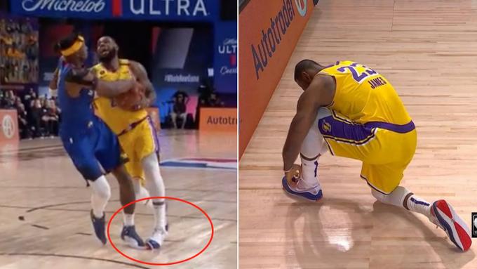 揭秘 | 為何詹姆斯每次腳踝扭傷,跺跺腳和綁下鞋帶就可以繼續打呢?(影)