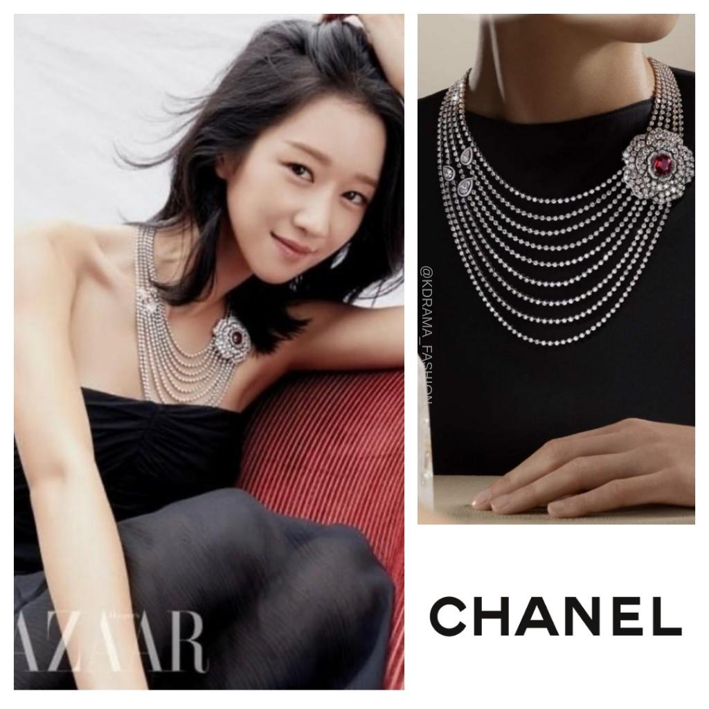 Seo Ye-Ji wore CHANEL Camélia Necklace (price unavailable) in HARPERS BAZAAR KOREA October 2020 Issue. #seoyeji #서예지 #샤넬 #CHANEL #seoyejistyle #seoyejifashion #seoyeji_chanel #kdrama_fashion_seoyeji https://t.co/9XCor7pQZs