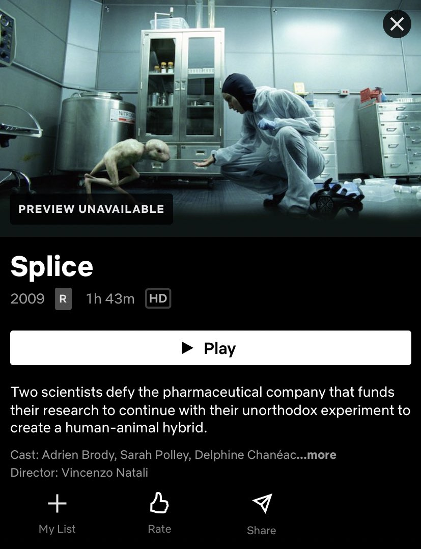 Weirdest movie on Netflix btw.. https://t.co/PnMcIKegqO