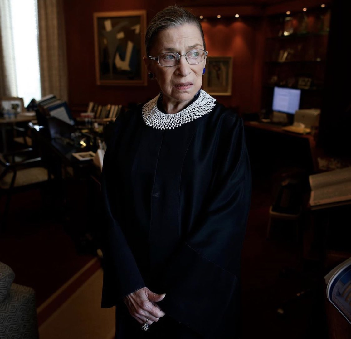 """""""The state controlling a woman would mean denying her full autonomy and full equality.""""   Ruth Bader Ginsburg 1933-2020 💫   @world_midwives  @MidwivesRCM  @bpas1968 https://t.co/hrFpsggYbj"""