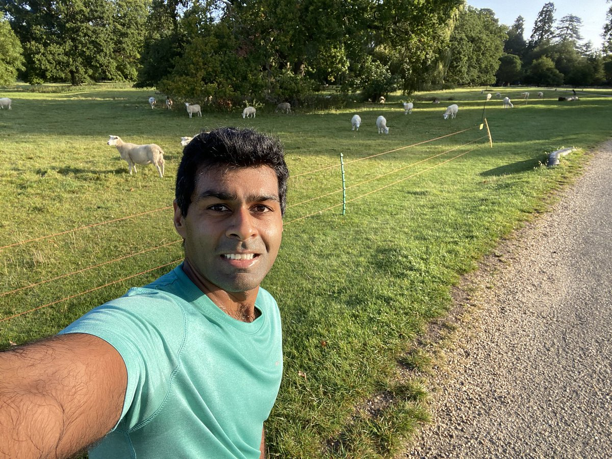 Stunning morning run around the Ickworth Estate in Suffolk this morning... No exaggeration that it will make the top 5 of my most enjoyable locations for a run! #Staycation #FamilyTime 🏃🏽♂️🏃🏽♂️☀️☀️ https://t.co/r55JuPf96A