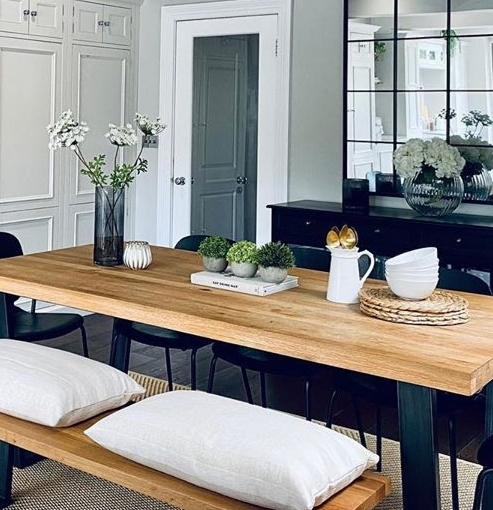 Dining room inspiration served up by @katielovestostyle on Instagram. We couldn't have styled our Calia Dining Table any better if we tried ✨ https://t.co/ezUa1uiT8i https://t.co/XZlW0Jk1Ua