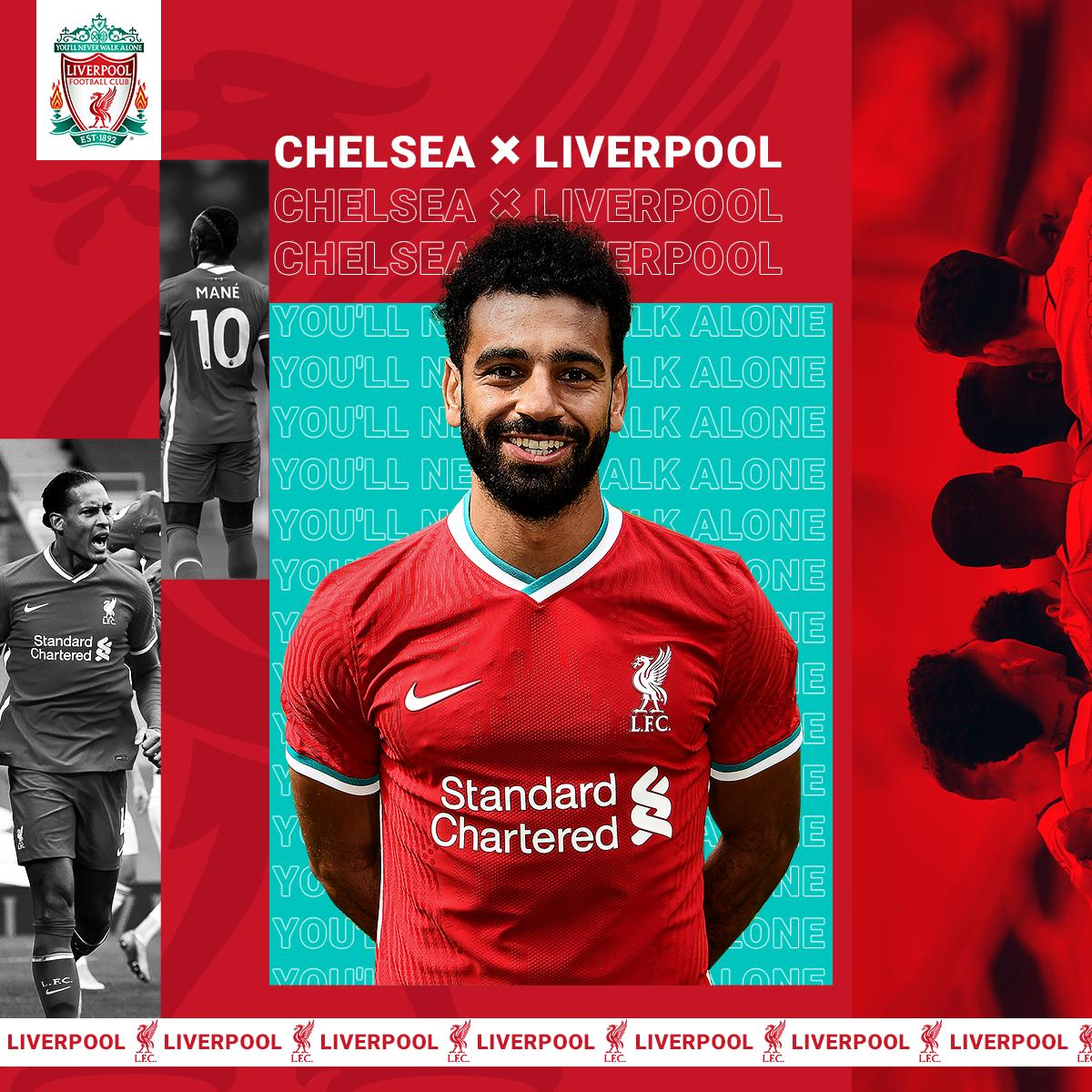 🔴 MATCHDAY 🔴  Ready for our first away day of the season ✊  #YNWA | #CHELIV https://t.co/KmwYW6i3EO