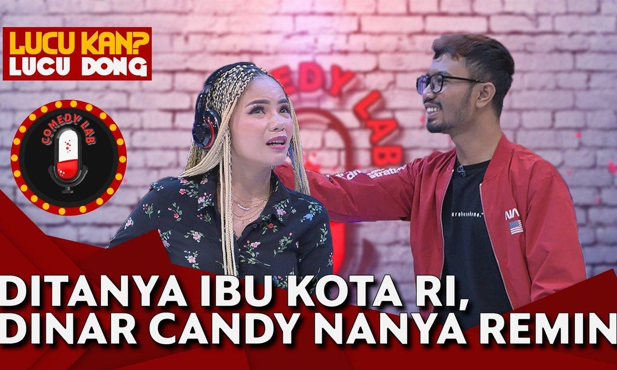 Ditanya Ibu Kota Indonesia Eh Dinar Candy Nanya Ridwan Remin, TERNYATA... - COMEDY LAB (PART 2) https://t.co/NDDYNyWwOU https://t.co/v8Jo6MBKud