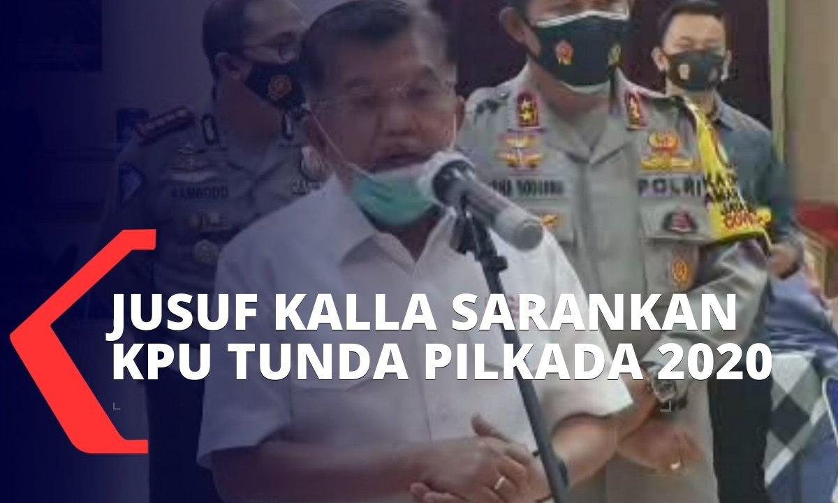 Masih Pandemi Covid-19, Jusuf Kalla Sarankan Pilkada Serentak 2020 Ditunda https://t.co/N5ws4qYtGC https://t.co/u44pzACJtT