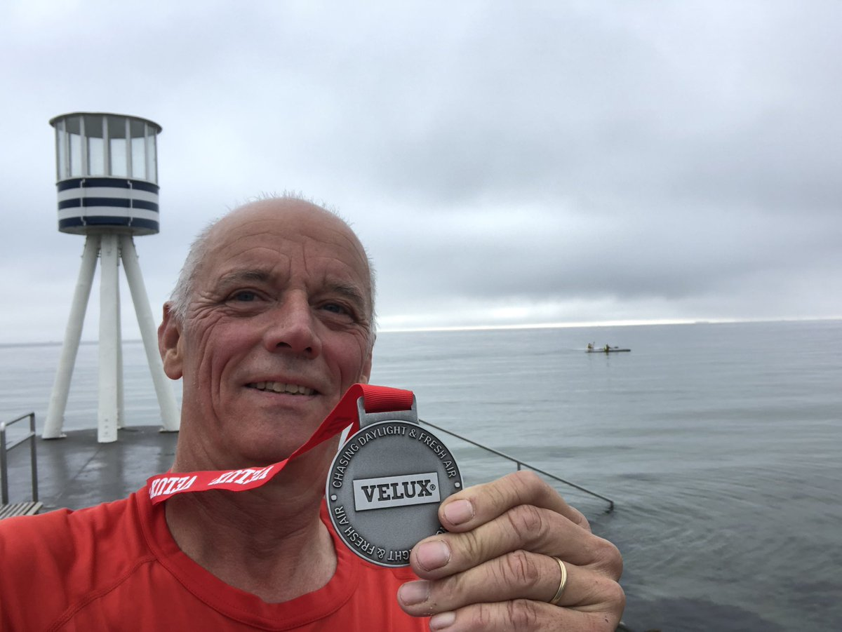 Today #velux is organising a virtual #COVID__19 race. We run all over the country and compeat against each other I did the 10 K #veluxsportsevent is an alternative to the #bridgerun that are canceled due to #coronavirus https://t.co/e5YWdkPBtd