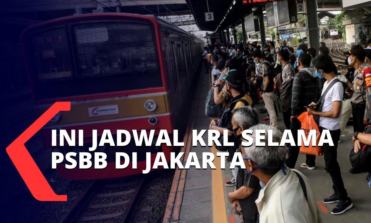 Ini Jadwal Operasional KRL Selama PSBB di Jakarta https://t.co/JyW3f8XQvg https://t.co/hxTgLn4OuL
