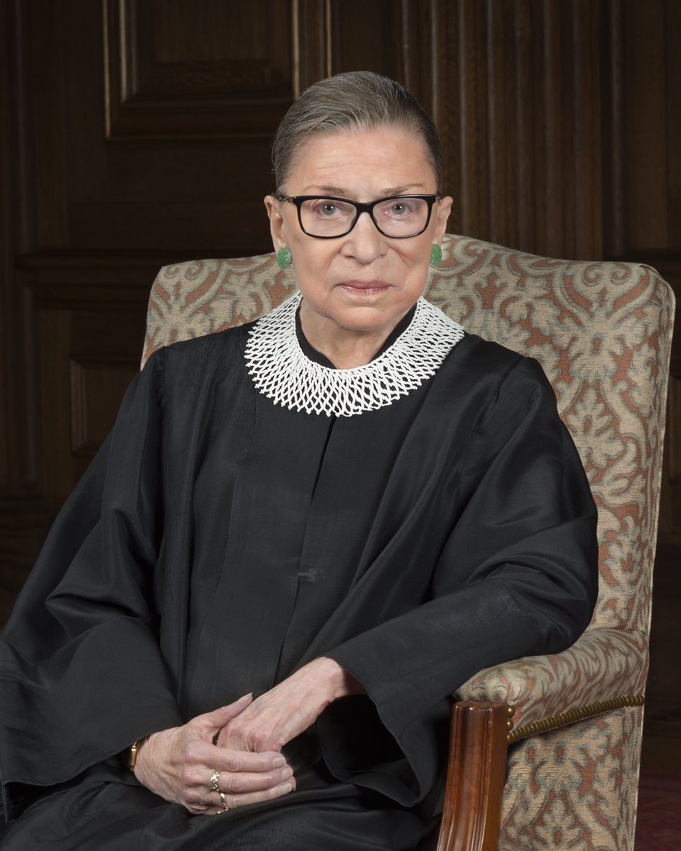 """""""Women belong in all places where decisions are being made.""""                     - Ruth Bader Ginsburg  Rest in peace. https://t.co/F2Ysj9O2CJ"""