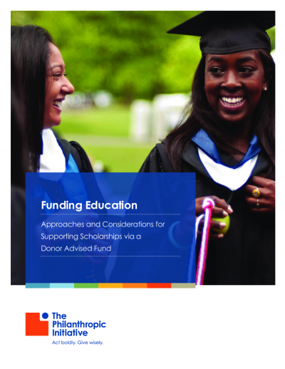 As #students return to #school, virtually or in-person, don't forget that philanthropic #scholarship support can be significant for the recipients. Download our guide, Approaches and Considerations for Supporting Scholarships via a Donor Advised Fund: https://t.co/NYx0PNzn5y https://t.co/ipr3XSGm2X