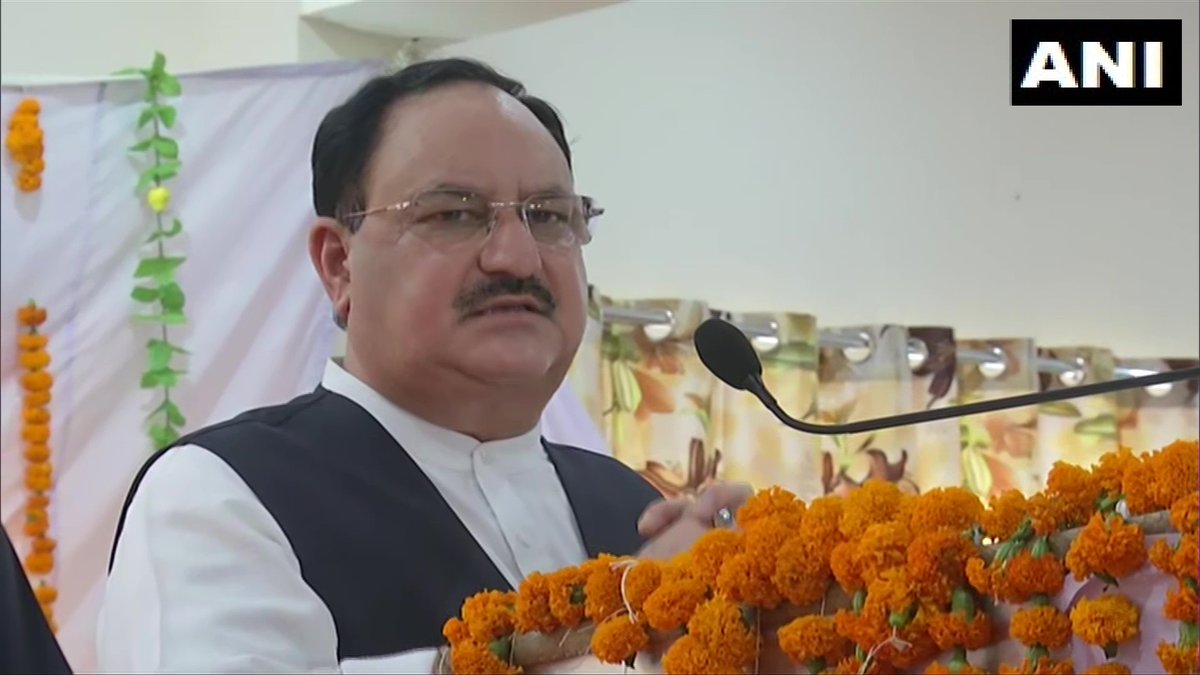 All work done by BJP is driven by specific objectives which is always dedicated to society in general. To regard this attitude of dedication which Modi ji has, we decided that on the occasion his 70th birthday, we will observe Sept 14-20 as 'Sewa Saptah': JP Nadda, BJP President https://t.co/NKft7Trs12