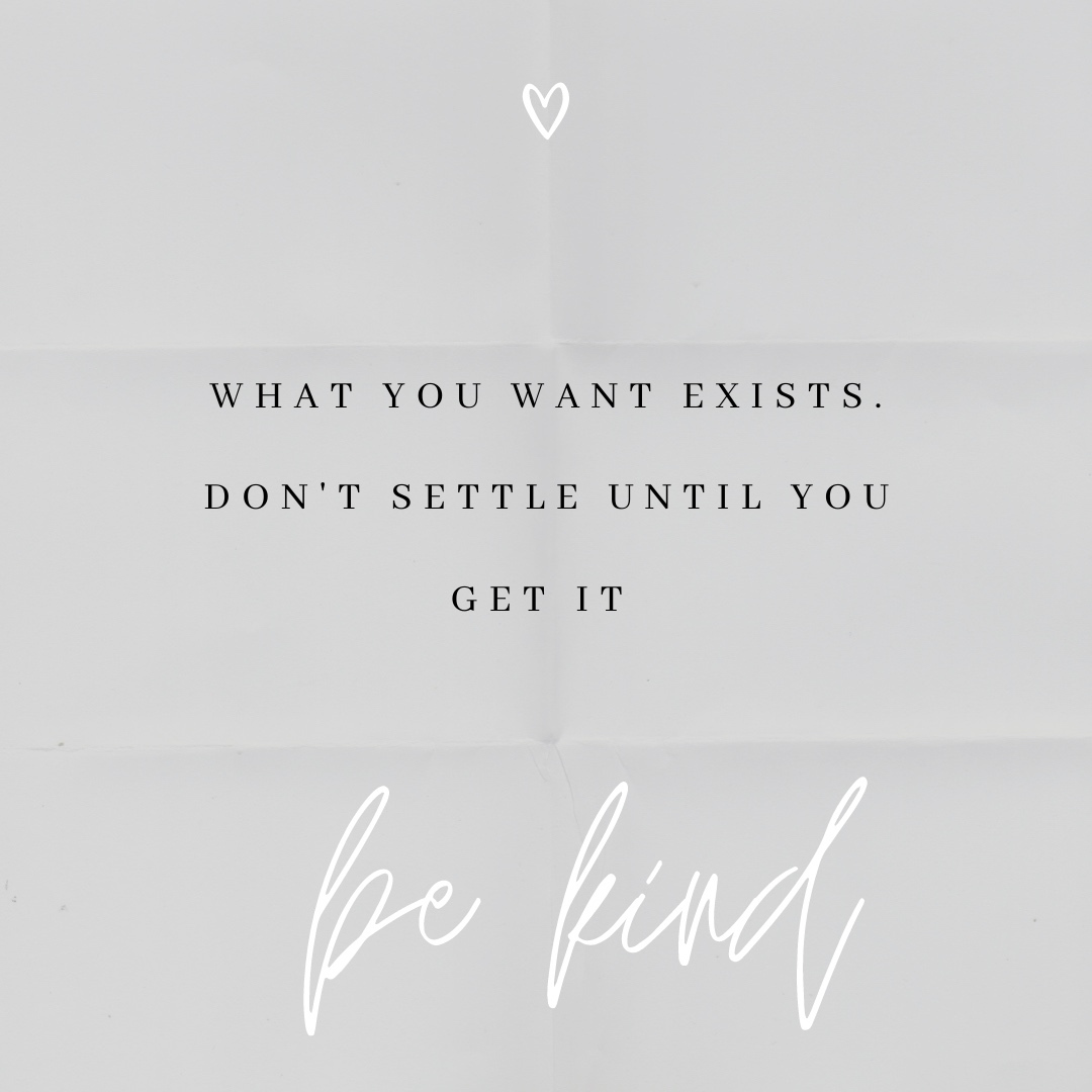 What you want exists, don't settle until you get it  Anita 💞  #kindness #bekind #kindnessmatters #kindnessquotes #selfawareness #staypostitive #awareness #behappy #love #trust #truth #caring #loveyourself #bromsgrove #anance https://t.co/A9Fvos9F39