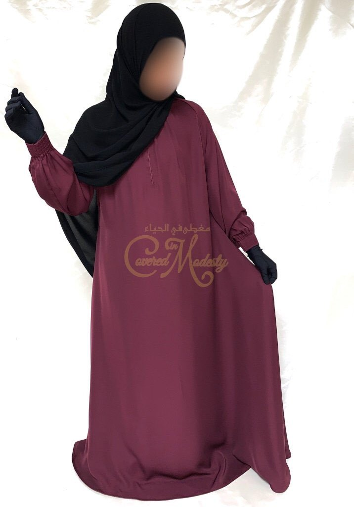 🚨🚨One of our BEST SELLERS🚨🚨Ruby Doublewide Abaya w/design cuff  🔺Can be paired with Black or Ruby pieces (Shayla,Niqab, Cape, Overhead etc.)  - - #abayas #niqabi #niqab #hijab  #tarha #overhead #abaya #shayla #khimar #muslimahfashion #muslimah #muslim #coveredinmodesty https://t.co/MWy6oAd9R9