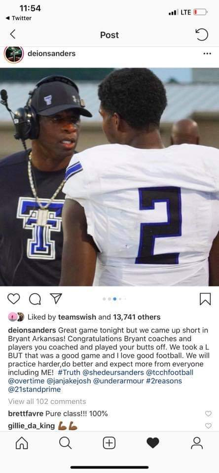 Means a lot coming from you coach! Love this game 💪🏾 #SafetyZone #Hornets #SeniorSzn #212° #DBU https://t.co/gNqPPohioU