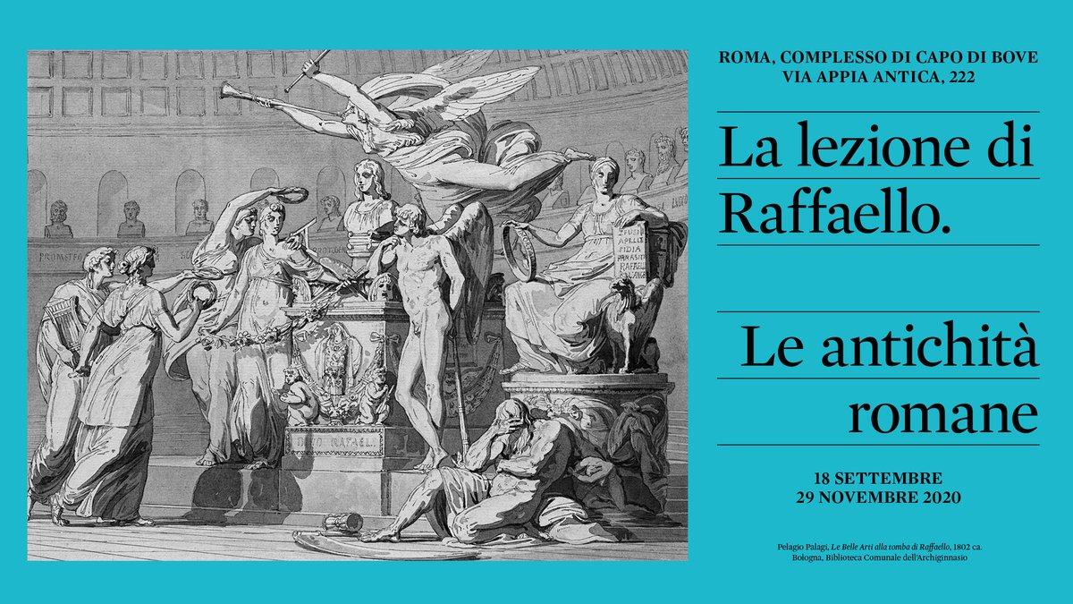 Mostra  LA LEZIONE DI RAFFAELLO. LE ANTICHITA' ROMANE (Capo di Bove 18 settembre-29 novembre 2020)📚📜🏺  Info https://t.co/94X3HuHOKn . . . #Appia #AppiaAntica #Mostra #Raffaello  #RaffaelloSanzio #Arte #Art #Archeologia #Archaeology #AntichitàRomane #RomanAntiquities #LeoneX https://t.co/1ouN3TR1vQ
