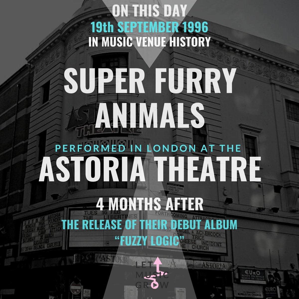 #onthisday #1996 #superfurryanimals #londonastoria #letmusicgrow @superfurry Super Furry Animals, SFA #music #musicvenues #classicalbum #letthemusicplay #saveourvenues #saveourstages #mvt #NIVA https://t.co/Gbh94DEZ0Z