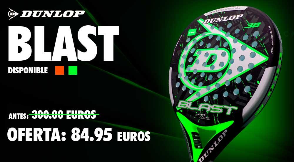 🕔 OFERTOOOOON en @padelmania_web 🕔 . Consigue tu #DunlopBlast por solo 84,95 euros . Un de las grandes opciones de potencia del mercado . https://t.co/9J5wxPY94R . . . #FelizSábado #Dunlop #Padel https://t.co/m30jb9mlgb