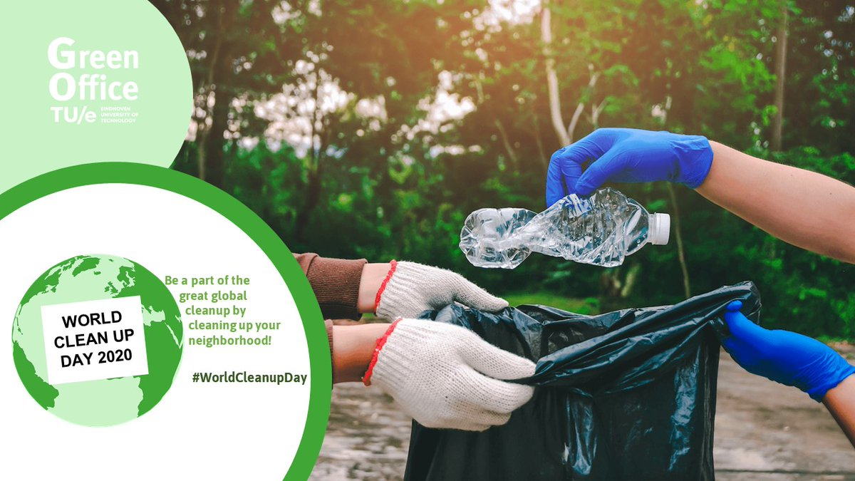 Today #GoGreenOffice celebrates @WorldCleanupDay ! The #Netherlands #cleans up #trash together with @nederlandschoon and 20 million people distributed over 20 countries. Let's keep #nature and #oceans #clean & #green #together, because looking at trash isn't enough anymore! https://t.co/CF0K5cWMNi