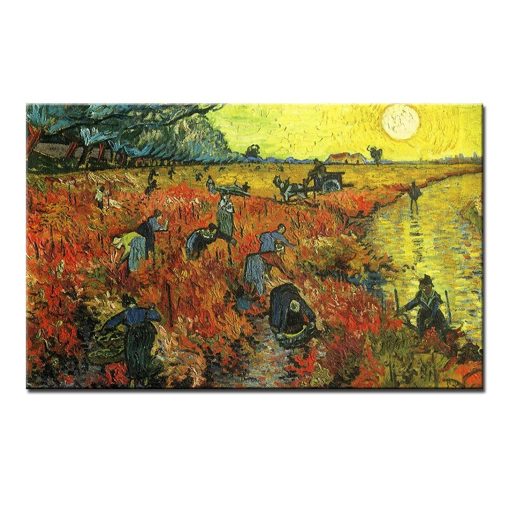 The Red Vineyard At Arles Vincent Van Gogh. Get it here ---> https://t.co/RCW4CVeWo3 #art, #homedecor, #best, #painting, #buy, #wall, #top, #love, #room, #new, #canvas, #picture, #fantasy, #dream, #artist, #cheaper, #free, #shipping, #print, #oil, #image https://t.co/7PsnRximCw