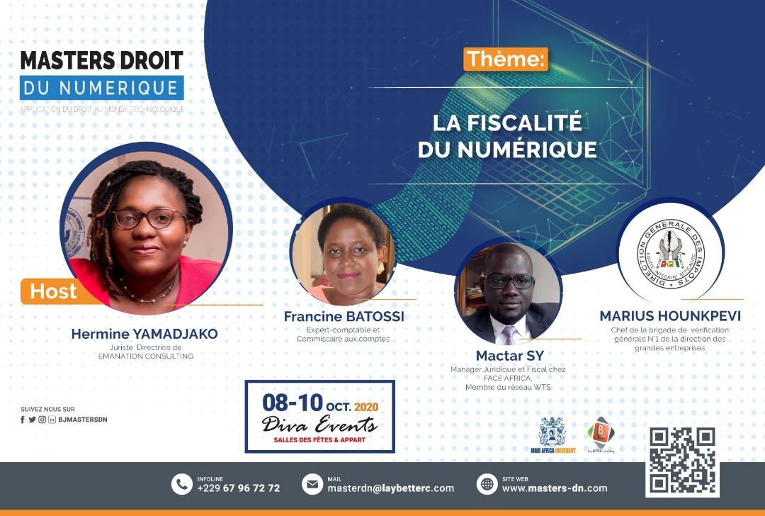 [SAVE YOUR PASS] 1ère éd de la conférence des Masters DN 🗓️ 08, 09, 10 Oct 📍Diva Events, Ctn, Bénin 🤷: 👩🎓👩🏫👮👩✈️ 🏹 Être à jour des enjeux juridiques du numérique    🔓Obtenir son pass gratuit sur https://t.co/R5D3IxZir8 ⚠️ Gestes barrières #droitnumérique #BJMasterDN @dgibenin https://t.co/dWlTFXUHnh