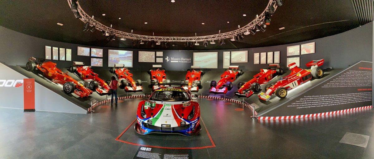 Ieri una visita ad un luogo speciale e unico: Museo Ferrari a #Maranello https://t.co/s4ZS317p7u