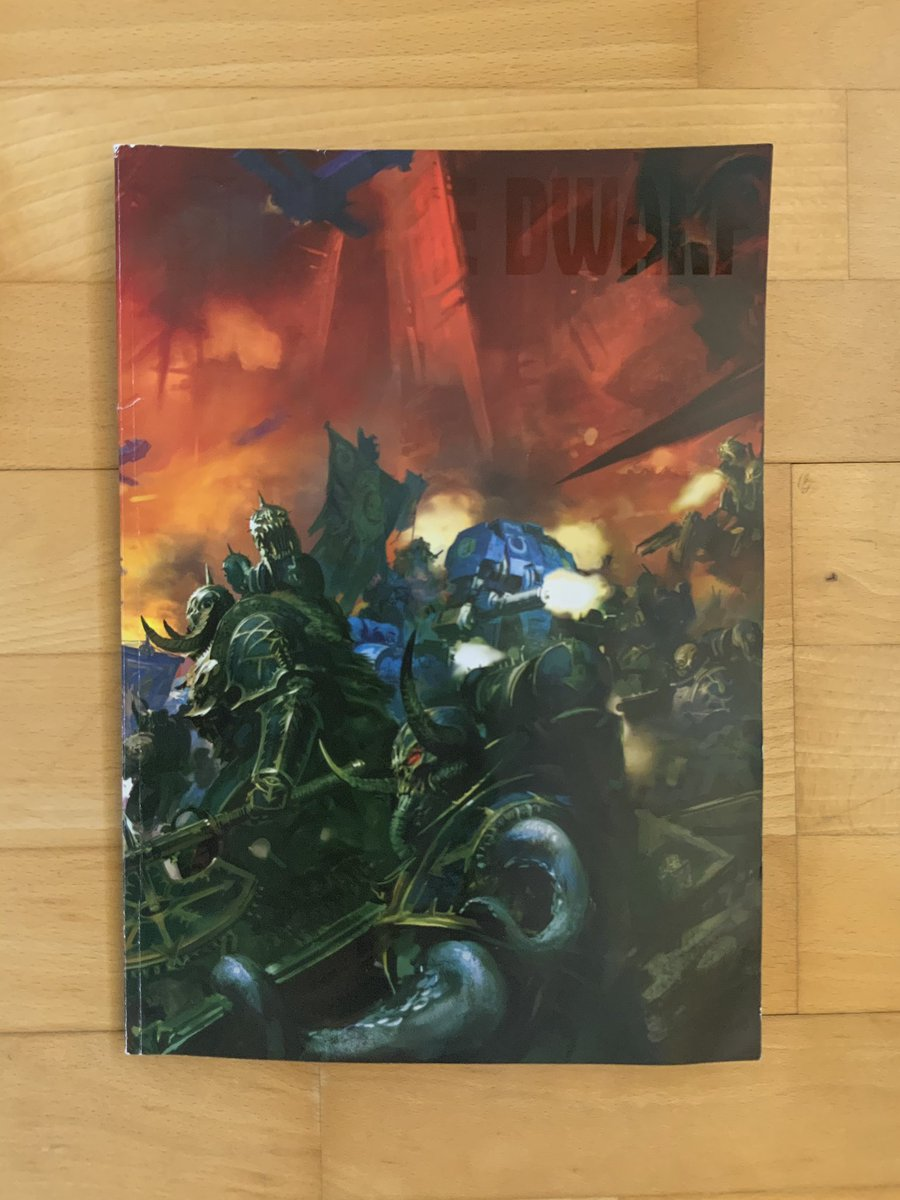 Check out my well thumbed White Dwarf issue 456. Haven't been able to put it down all week. Review on the blog today.  https://t.co/IIOpKkxBfx #warmongers #warhammercommunity #taleofpainters #whitedwarf https://t.co/loQ0fUzVi6