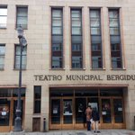 Image for the Tweet beginning: Y en el @teatrobergidum de