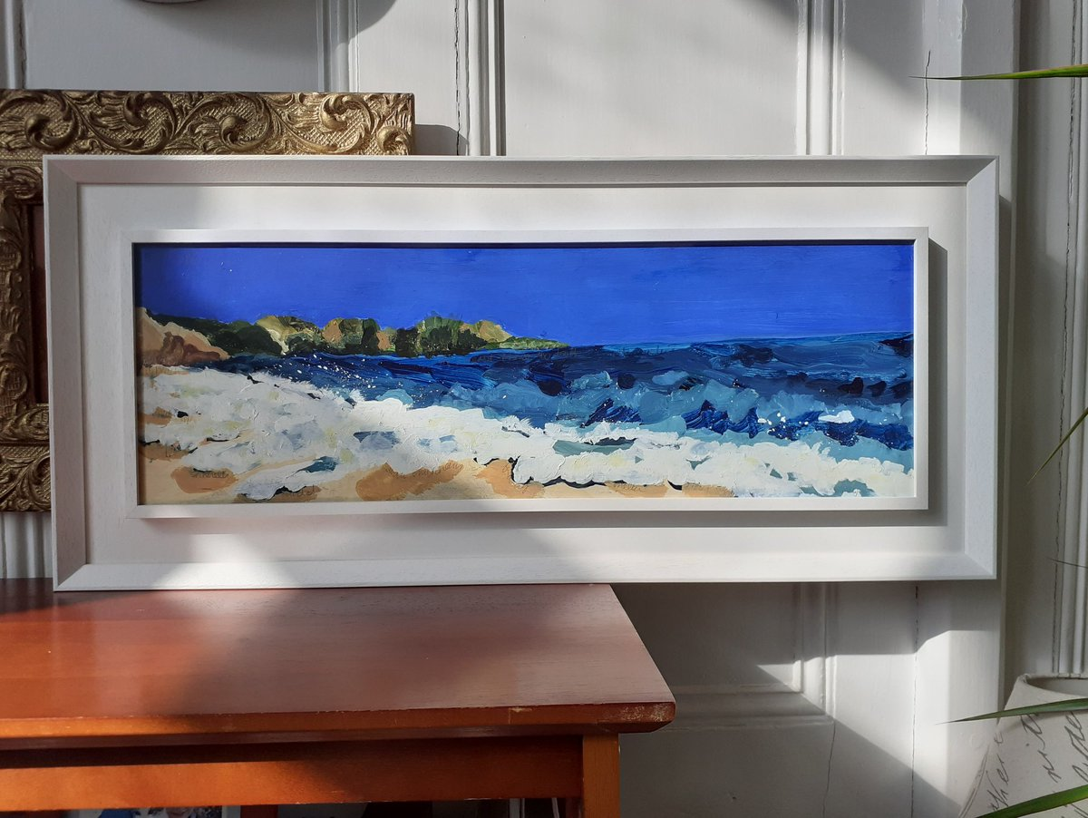 All expertly framed up by the talented @WGandF ready for delivery to The John Hurt Art Prize  Holt Festival 2020. It's an incredible lineup of international talent and I'm humbled to be part of this exhibition. @holtfestival #johnhurtartprize #artistresidency #cornwallcoast https://t.co/0N0eV3SmFO