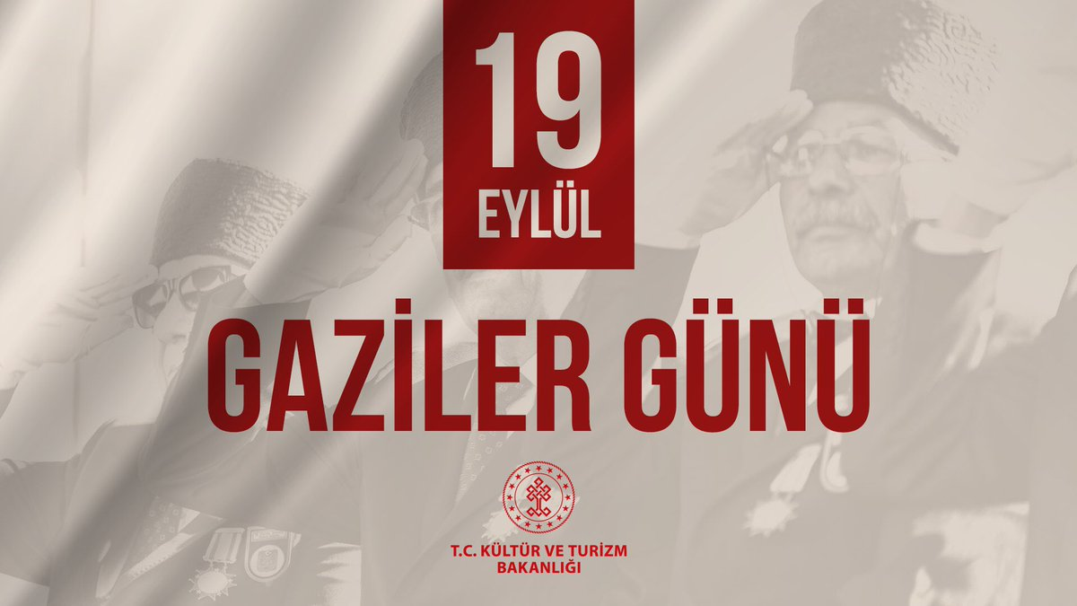 Vatanımızı  canlarını pahasına koruyan gazilerimizin #GazilerGünü kutlu olsun.  Başta Gazi Mustafa Kemal Atatürk olmak üzere ebediyete intikal etmiş tüm kahramanlarımızı rahmet ve saygıyla anıyoruz. https://t.co/IjRBTeMZgK