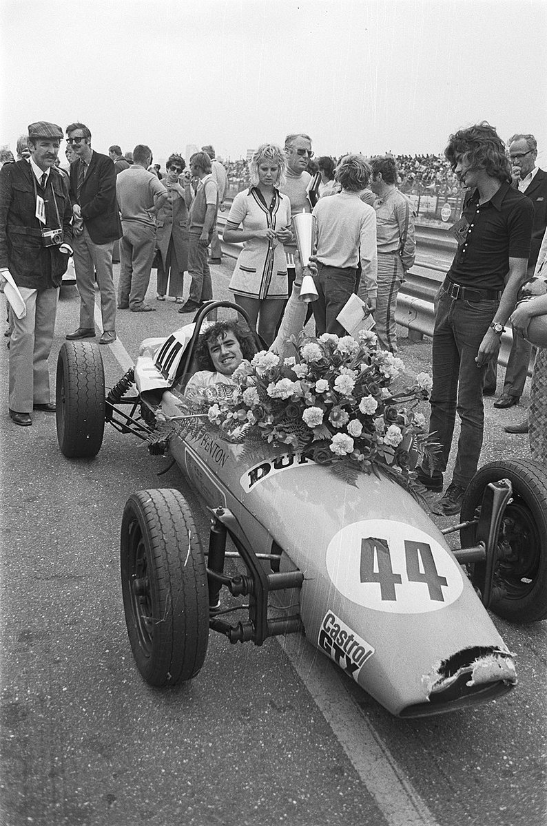 #HappyBirthday Brian Henton, 74. He started racing at 23, was an ace in #FVee (pic), #F3 & #F2, winning championships in all 3, but never got a decent break in #F1. However - #AnorakFact - he's the only driver to score an F1 fastest lap (Brands '82) but no F1 championship points. https://t.co/bKuaxTanCu