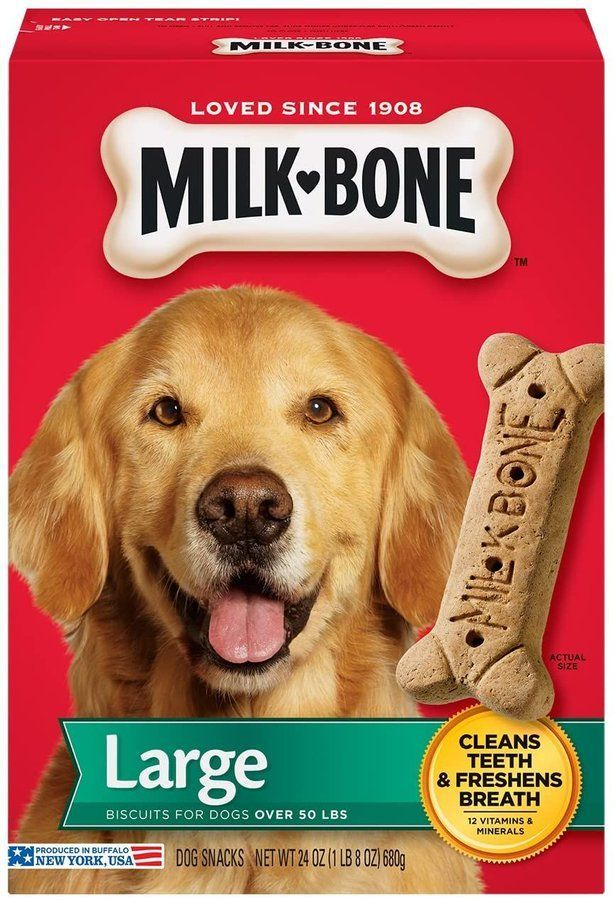 1.5 pounds of Milk-Bone Dog Treats, under $3!! amzn.to/3dSyXkz