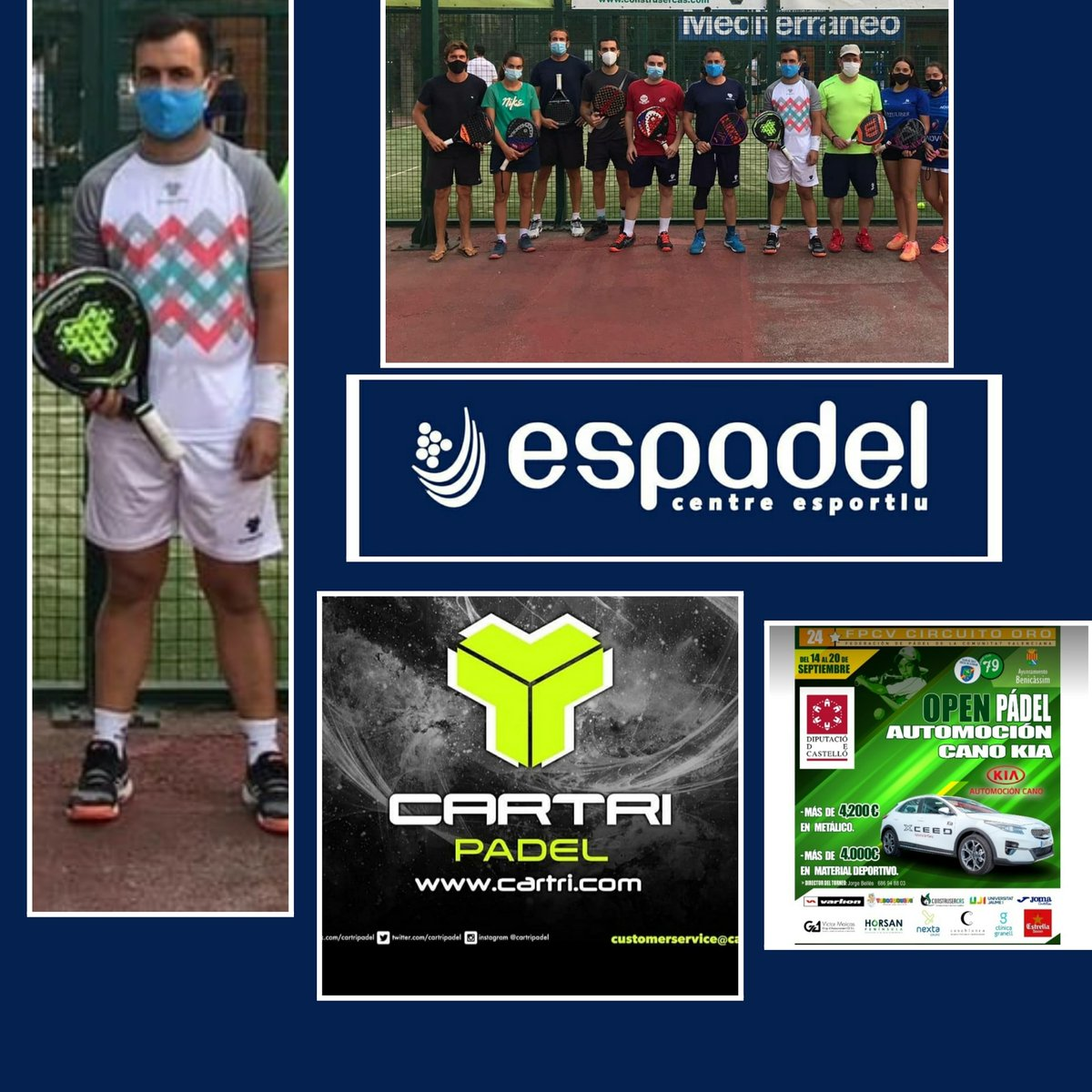 TORNEO ORO 24* AUTOMOCION KIA  @cartripadel @espadelburriana #cartripadel #cartri #teamcartri #equipocartri #cartriteam  #familiacartri #padel #padeltime #instapadel #ilovepadel #padeladdict #padelmania #padeleros #padelon #padelpeople #padelamateur #deporte #sport #spain https://t.co/S4VXl0uh9c
