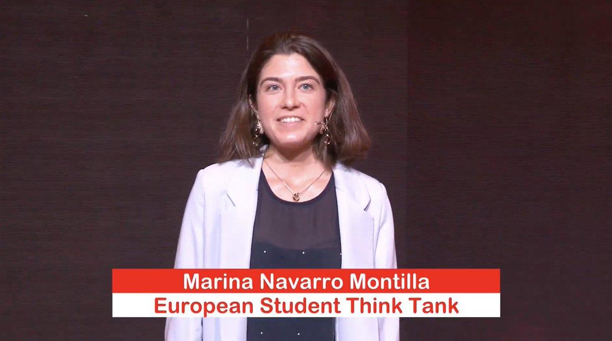 🔴 Marina Navarro (@ESThinktank) nos ha entusiasmado con su fuerza 🙌 y, a pesar de su juventud, nos enseña que cada día es una nueva oportunidad 🥰 para poner en marcha proyectos emocionantes o aprender algo nuevo.  ¡Seguimos en el Campus #GIRAJóvenes #ImpulsaElCambio! 🤗 https://t.co/BL5NokNlTe