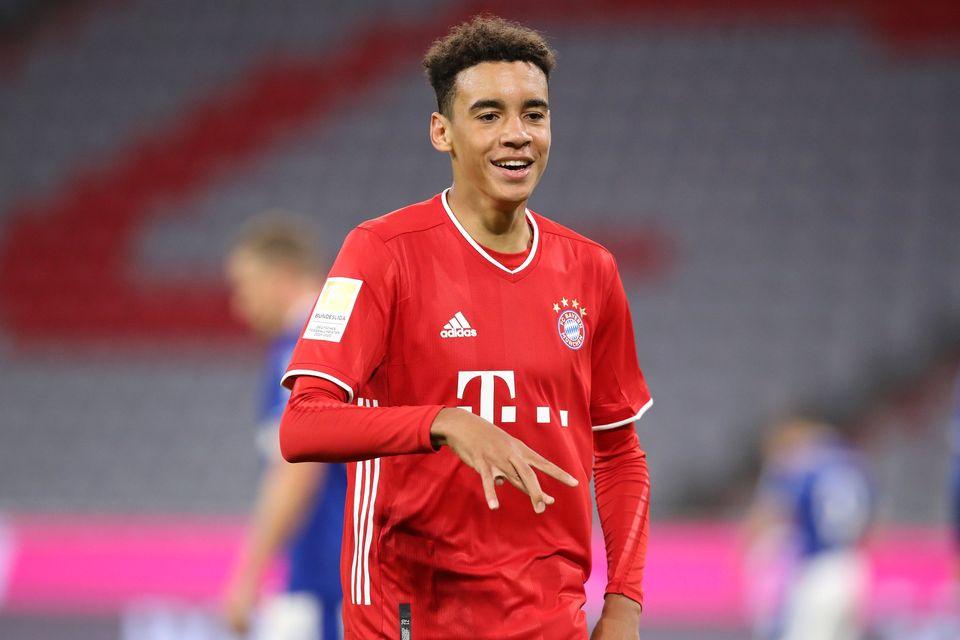 موقع الأخطبوط جمال موسيالا 17 عام ا و205 يوم أصبح أصغر لاعب لنادي البايرن يسجل في الدوري الالماني