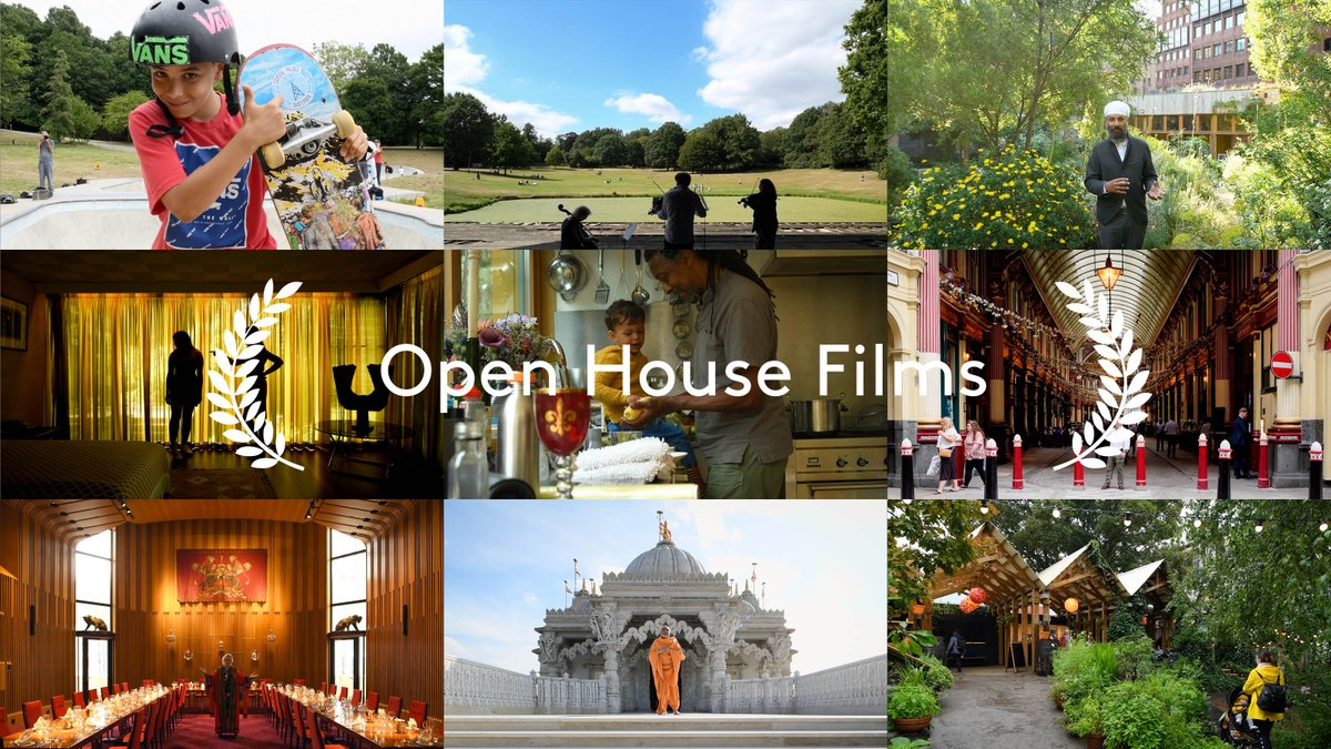 Juicy, accessible, intimate film tours of special buildings and landscapes across London now live and free for everyone during @openhouselondon. #LondonIsOpen https://t.co/8XV0s5DUQH https://t.co/jwohhmsdam