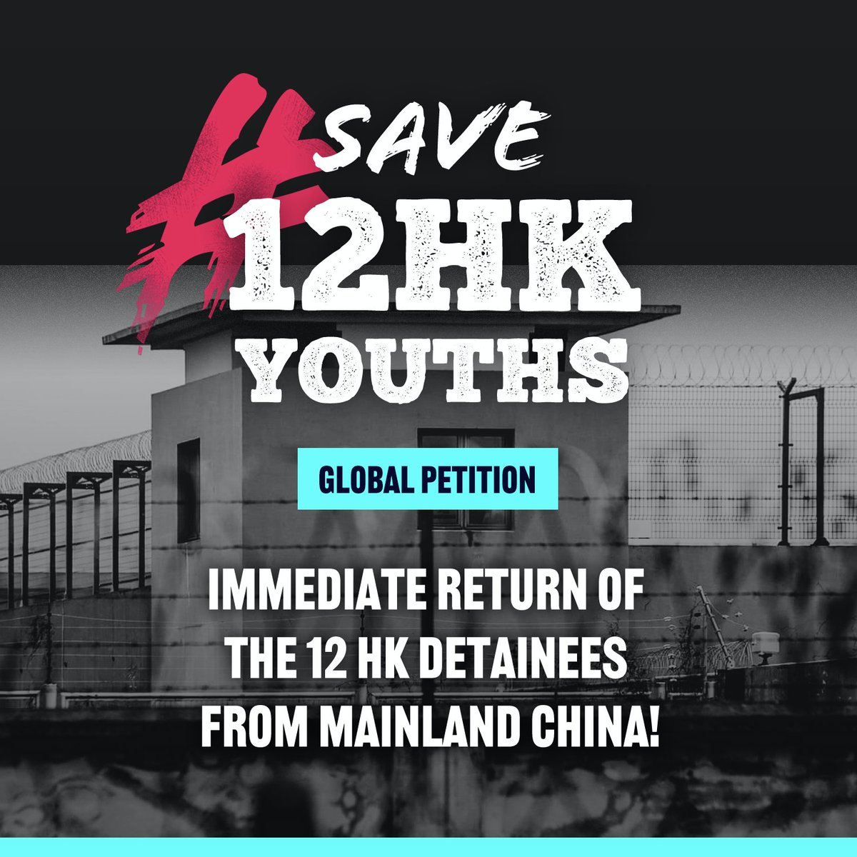 【Global Petition: Immediate Return of the 12 HK Detainees from Mainland China!】https://t.co/3EeBucNRgU  We urge people to sign on the petition that translated into Deutsche, Français, Español, Italiano, にほんご, 한국어, ไทย, Tiếng Việt, فارسی. @save12hkyouths #savehk12youths https://t.co/LekmtFVn8o