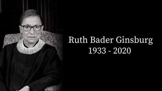Che straordinaria donna e che eredità di diritti e civiltà ha lasciato all'America che amiamo https://t.co/ps4HFSl2UE