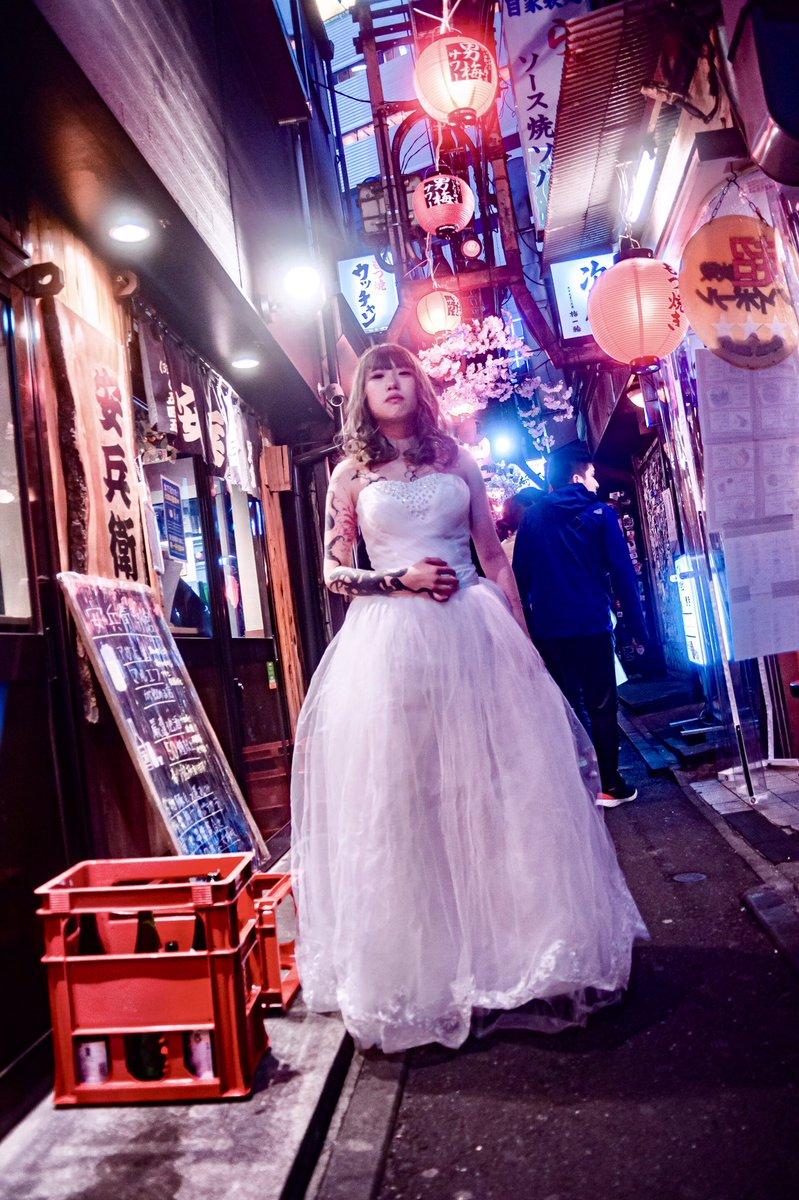 """Neon Marriage (2020)""  #被写体募集 #ファインダー越しの私の世界 #キリトリセカイ #モデル募集 #写真好きな人と繋がりたい #タトゥー好きと繋がりたい  #tattooedmodels  #portraitphotography #歌舞伎町 https://t.co/P3yV1L8cqi"
