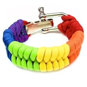 Bright Full Rainbow Paracord Bracelet - LGBT #Gay Pride & Lesbian Pride Wristband from https://t.co/DUHyRtrcnJ https://t.co/5PEOFPAyGW