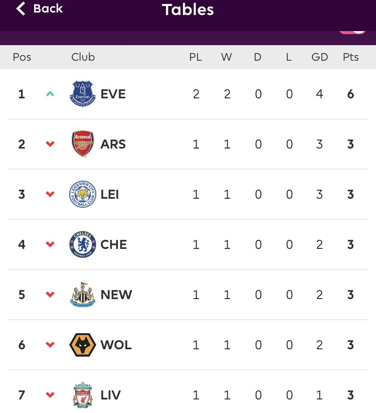 You know me. Not one to get carried away. But Everton on pace to win the league, undefeated season, 114 points, DCL 76 goal-Golden Boot. Stats #UTFT 💙 https://t.co/x88ilq9djJ