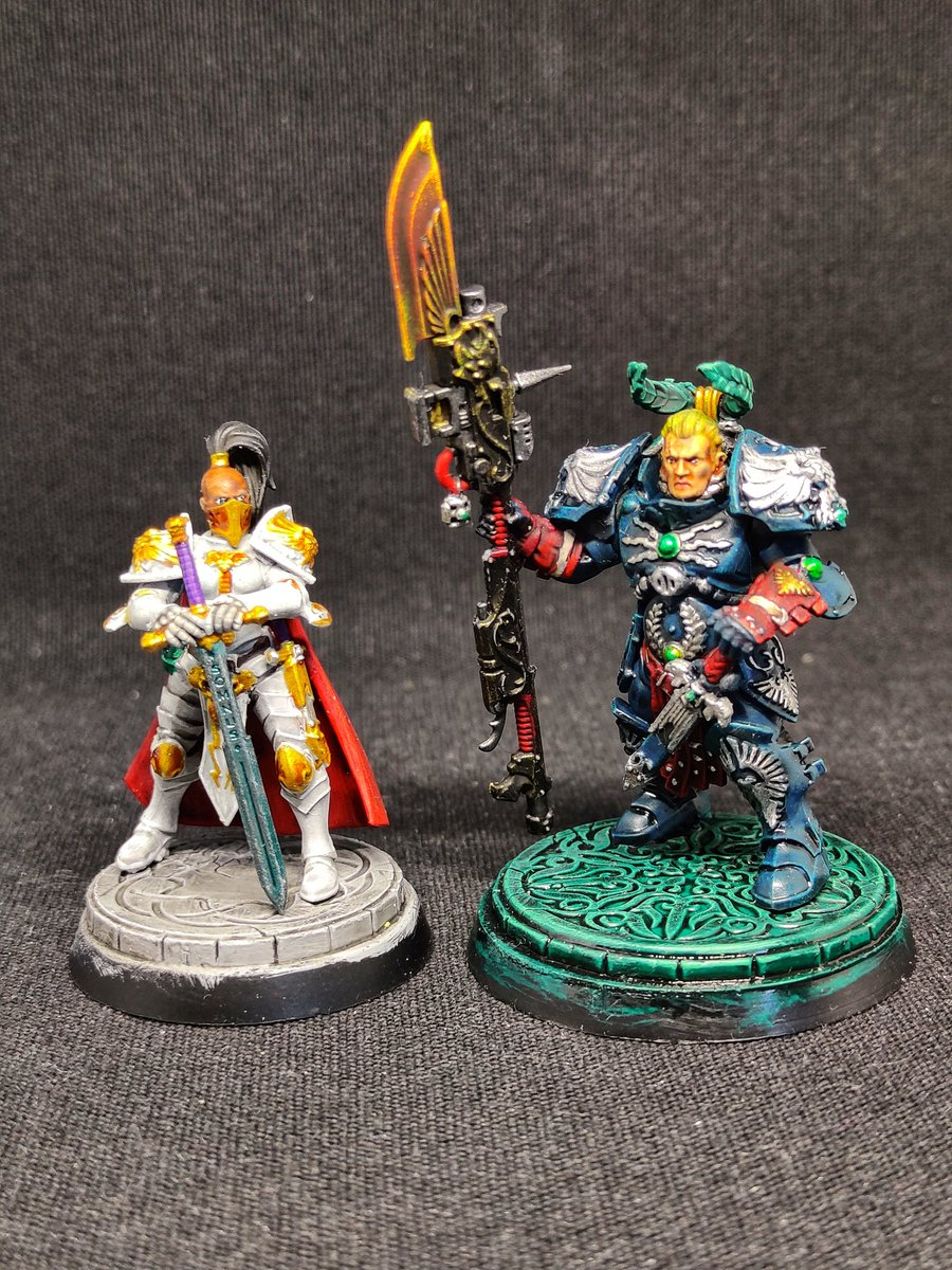 I forgot to post the photos I took from my latest projects so here they are. c:  #Warmongers #WarhammerCommunity #PaintingWarhammer https://t.co/OJF2o7sqEx