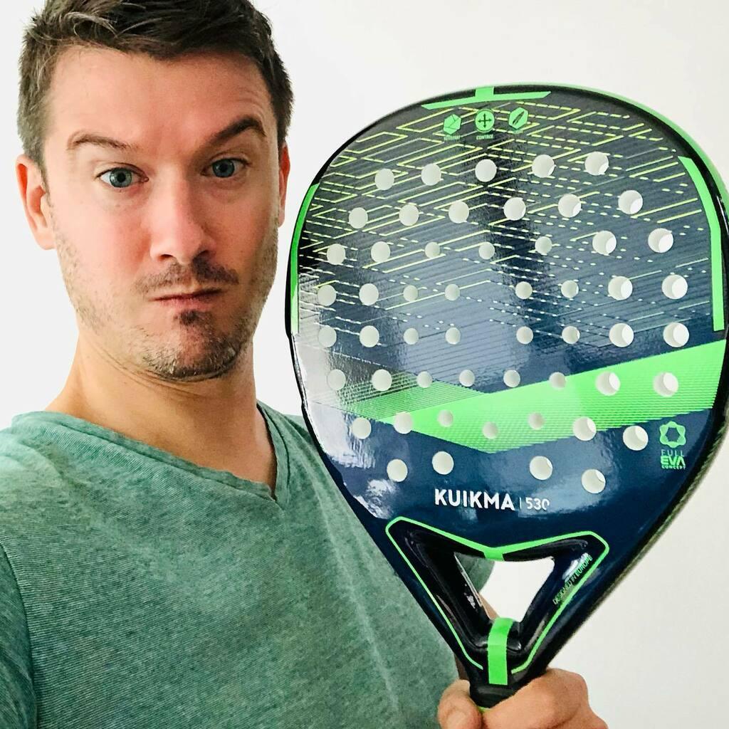 Nouvelle raquette de #padel ! Je me dois d'en prendre soin ! 🎾 #sport #raquettes https://t.co/yBeuYMIQ2m https://t.co/tVwC5wS5h1