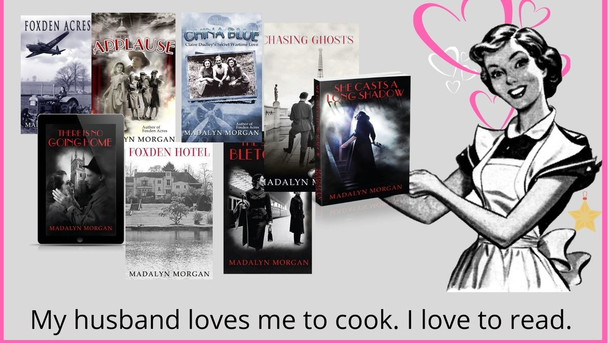 """The lives and loves of the Dudley Sisters 1939 to 1959 https://t.co/NC6EHnjIvv  #Landgirls #showgirls #Saboteurs #FrenchResistance #Spies #love #PsychologicalThriller   #Paperback #Kindle #KindleUnlimited  I like watching television too. """"These books would make a great TV series"""" https://t.co/fUg8MNLzS6"""