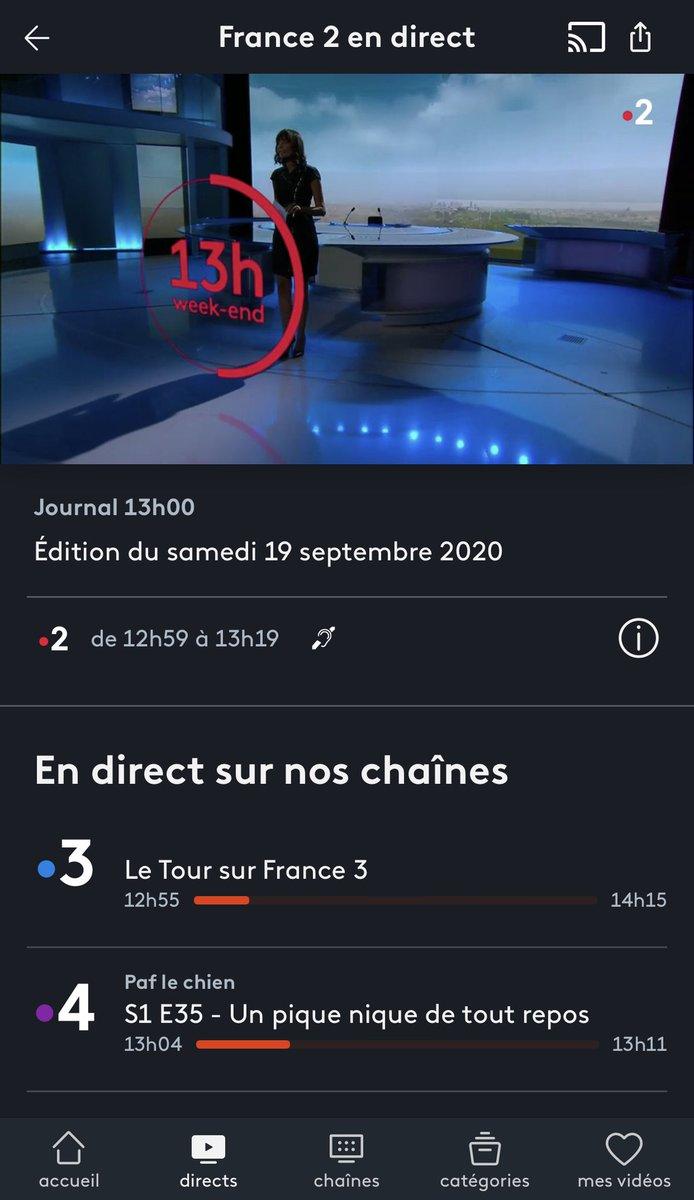 Injoignable pendant 20 minutes, je regarde religieusement le #JT13h de @Leilakan sur @France2tv ! 🌟👌  Avec un joli reportage sur un «écrin de verdure» 😍 ❤️ ! https://t.co/RS3dDATOYD