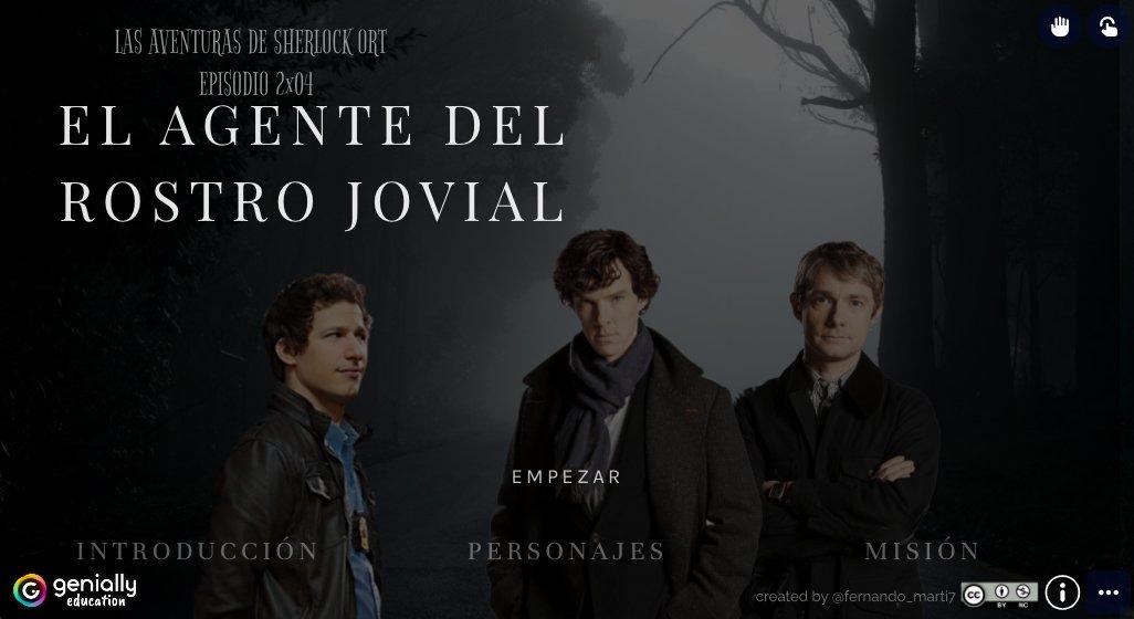 """Esta semana hemos vuelto a  disfrutar de """"Las aventuras de Sherlock Ort"""". Tras el parón debido al confinamiento, volvemos para finalizar la segunda temporada con los episodios pendientes. El 2x04 ya disponible en @genially_es: https://t.co/mRyIjDwfln https://t.co/UqY3gSdAW1"""